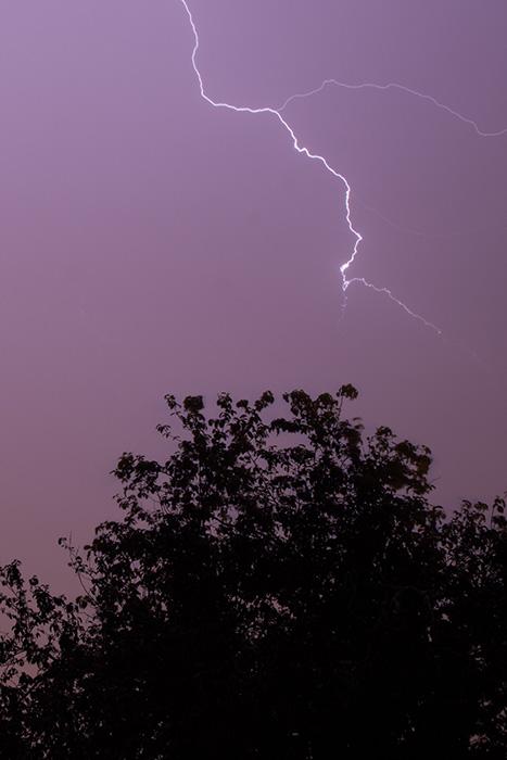 Premier orage